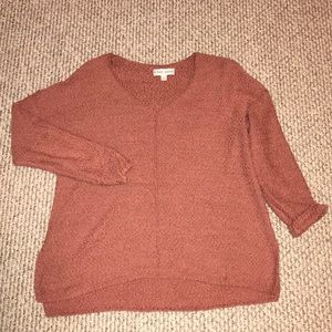 Like new Knox Rose autumn rose colored sweater